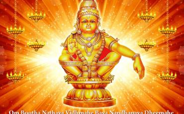 Sri Ayyappan Monthly Abhishekam